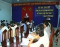 TXVL tổng kết công tác phổ cập giáo dục 2008, triển khai kế hoạch chỉ tiêu 2009