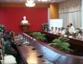 Đoàn công tác tỉnh Kom Pông Spư – Campuchia thăm và làm việc tại Vĩnh Long