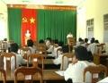 Vũng Liêm triển khai Quyết định 497 của Thủ tướng Chính phủ