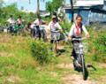 Tam Bình: Một gia đình ở Hòa Thạnh hiến toàn bộ đất ruộng cất trường