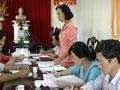 Ban Thường vụ Thành ủy Vĩnh Long khảo sát chất lượng tổ chức cơ sở Đảng và Đảng viên năm 2009