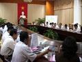 UBND tỉnh Vĩnh Long họp thông qua các văn bản trình kỳ họp lần thứ 17 HĐND tỉnh khóa VII
