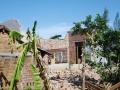 Mưa đá to tốc mái hơn 100 ngôi nhà ở Quảng Nam