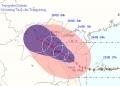 Đêm nay bão sẽ vào Thanh Hóa – Nghệ An