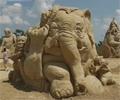 (THVL) Festival điêu khắc tượng cát ở Bungary