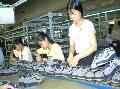 Ngành sản xuất giày tỉnh Vĩnh Long đạt kim ngạch xuất khẩu trên 44 triệu USD
